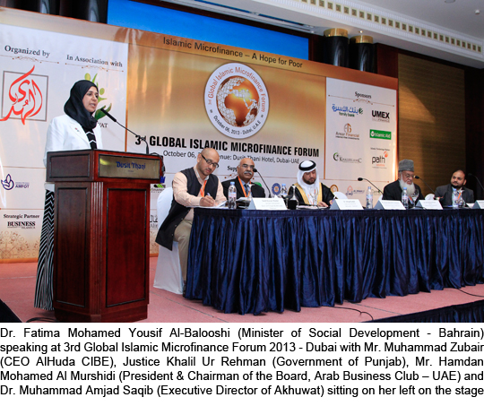 Islamic Microfinance should be Introduced Internationally: Dr. Fatima Al-Blooshi