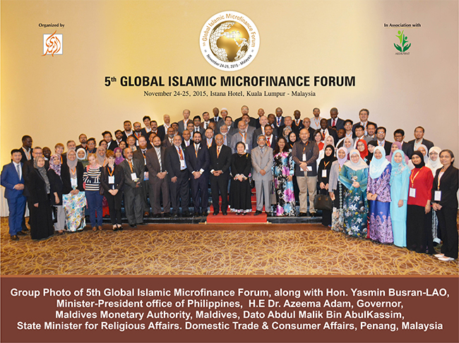 Apex Islamic Micro Finance leaders gathered at GIMF in Malaysia
