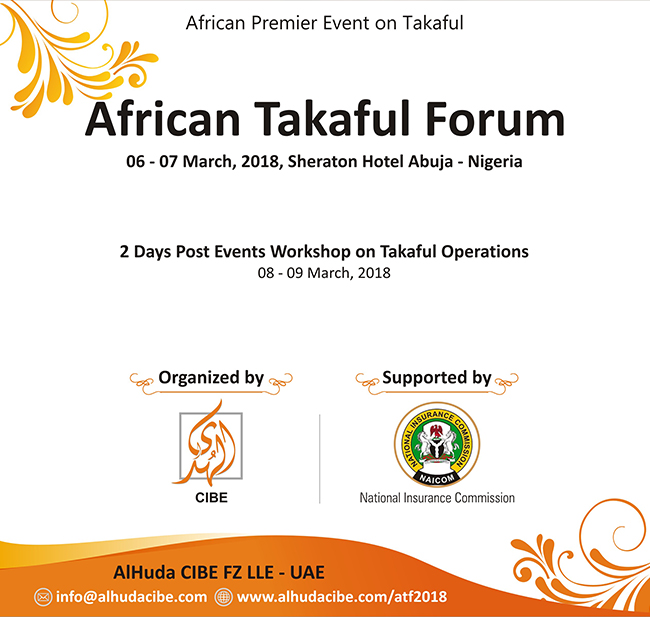 African Takaful Forum to be held in Nigeria supported by NAICOM